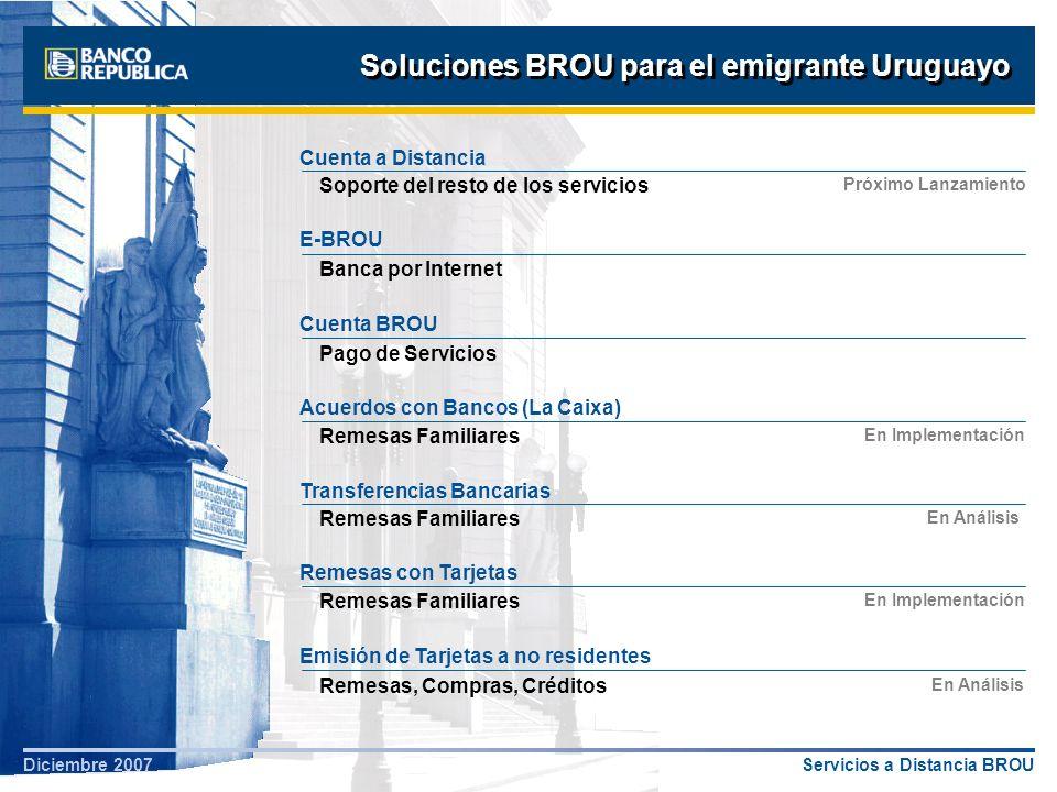 Soluciones BROU para el emigrante Uruguayo