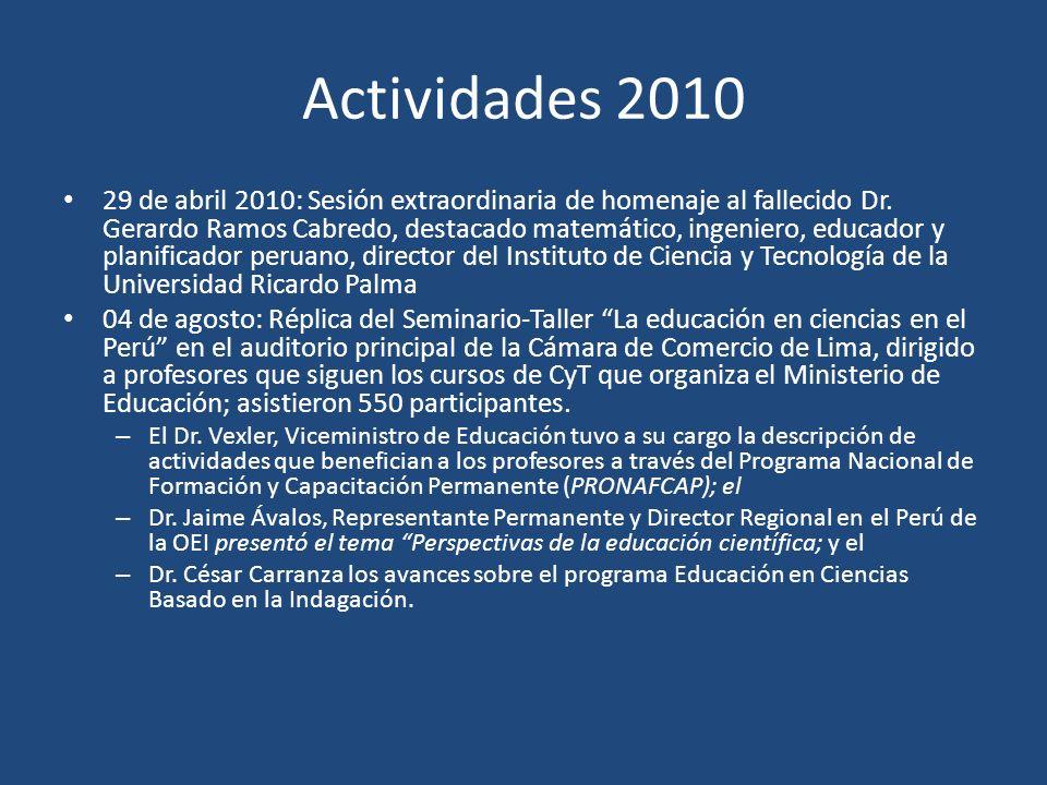 Actividades 2010