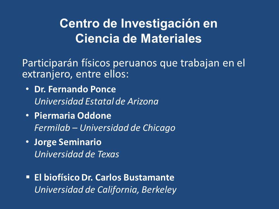 Centro de Investigación en Ciencia de Materiales