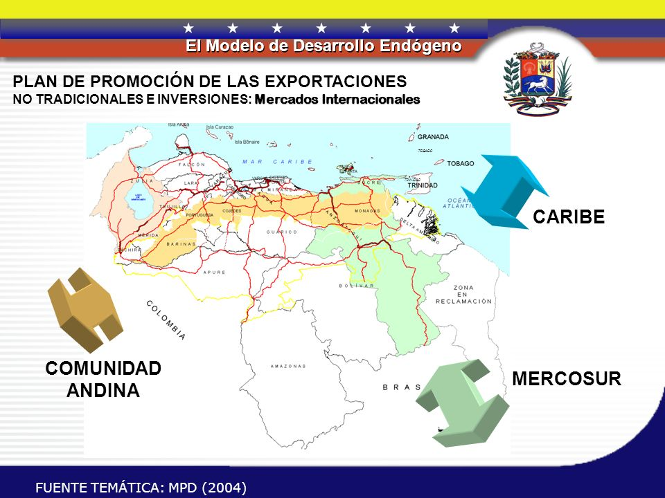 CARIBE COMUNIDAD ANDINA MERCOSUR