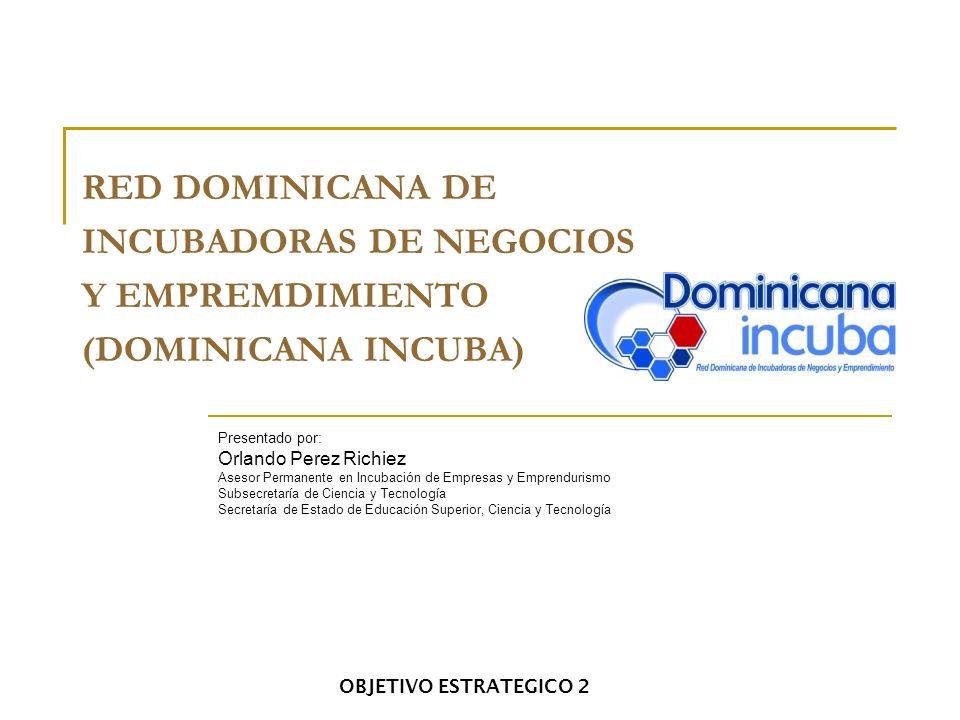 INCUBADORAS DE NEGOCIOS Y EMPREMDIMIENTO (DOMINICANA INCUBA)