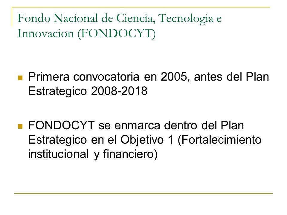Fondo Nacional de Ciencia, Tecnologia e Innovacion (FONDOCYT)