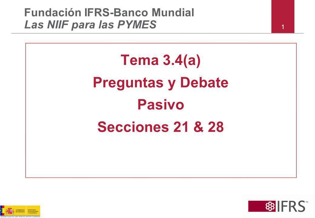 Tema 3.4(a) Preguntas y Debate Pasivo Secciones 21 & 28