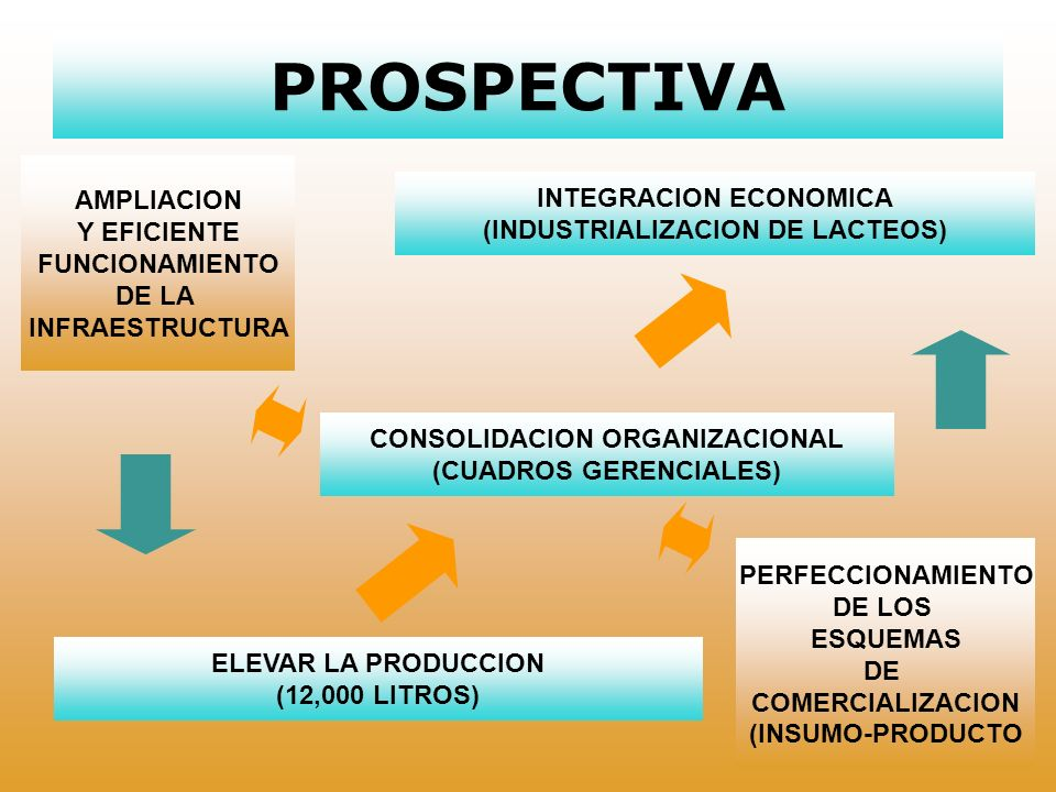 PROSPECTIVA AMPLIACION INTEGRACION ECONOMICA Y EFICIENTE