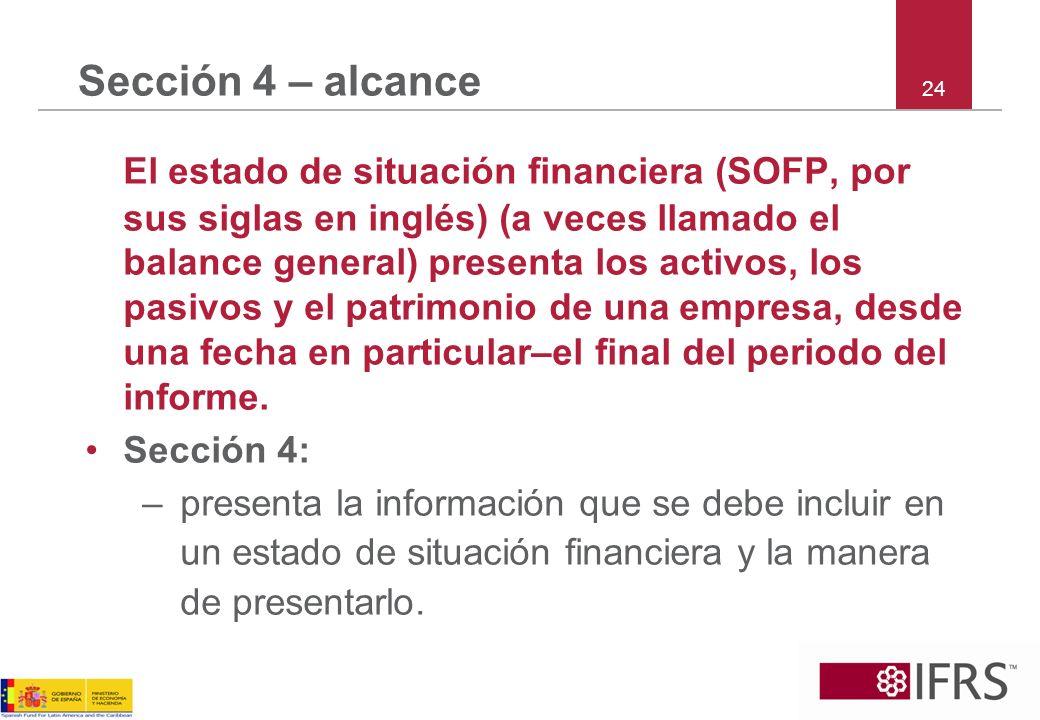 Sección 4 – alcance 24.