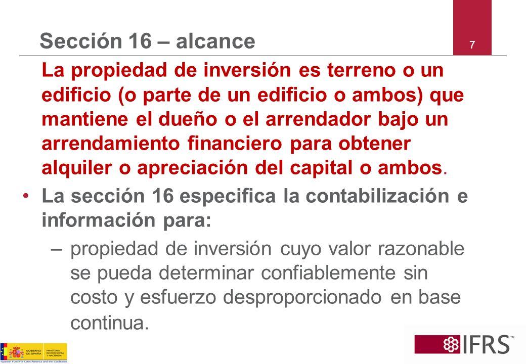 Sección 16 – alcance 7.