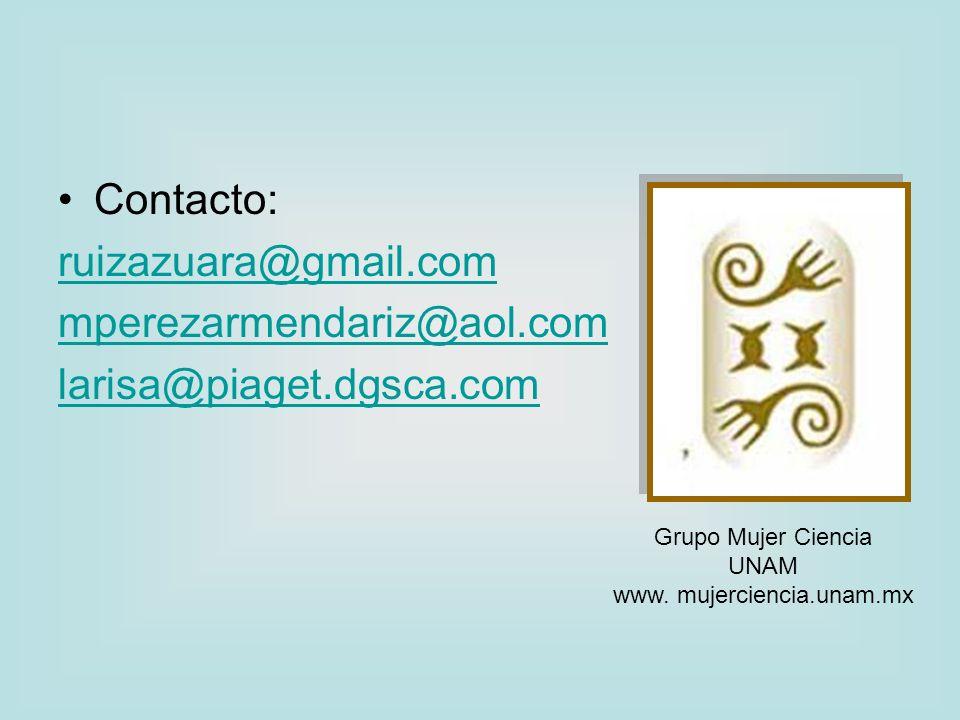www. mujerciencia.unam.mx