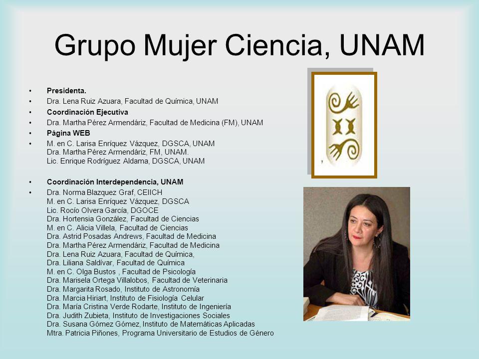 Grupo Mujer Ciencia, UNAM