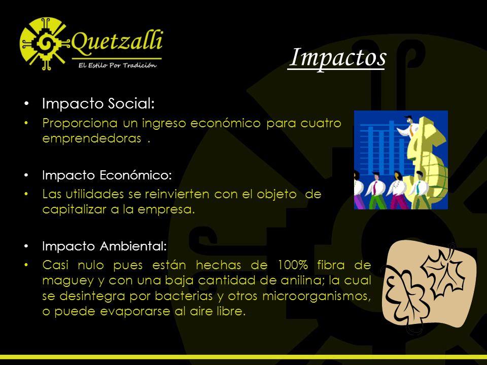Impactos Impacto Social: