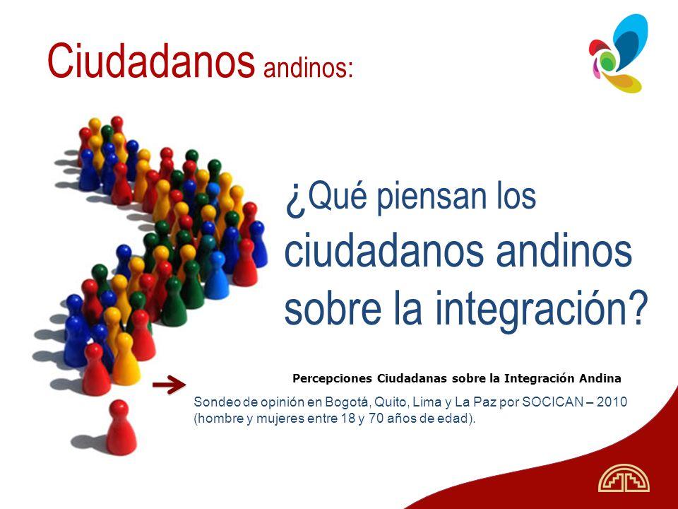 ciudadanos andinos sobre la integración