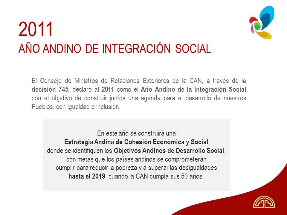 Estrategia Andina de Cohesión Económica y Social