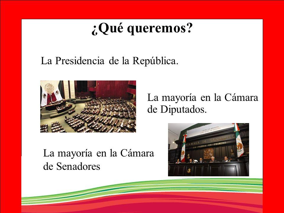 ¿Qué queremos La Presidencia de la República.