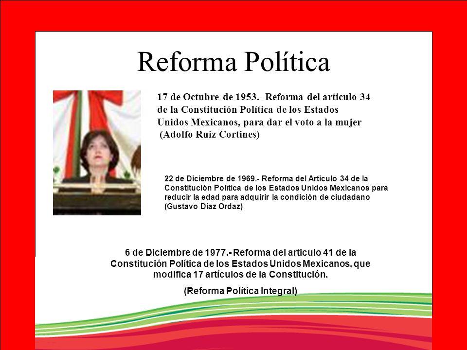(Reforma Política Integral)