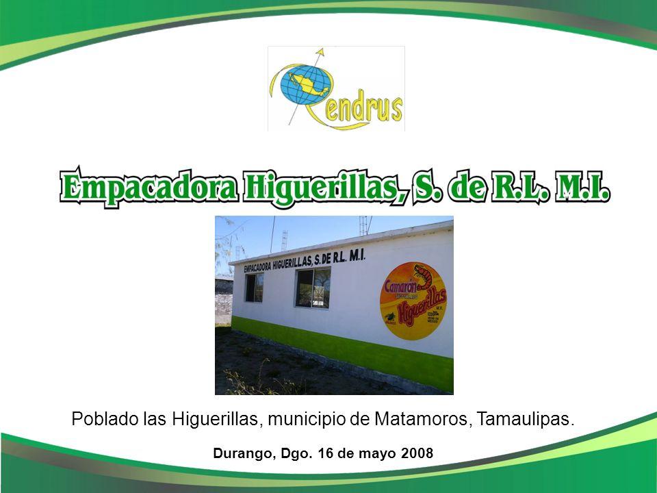 Poblado las Higuerillas, municipio de Matamoros, Tamaulipas.