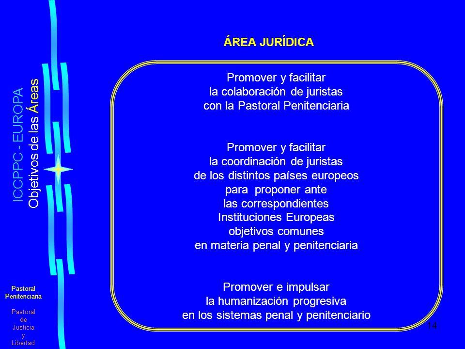 ICCPPC - EUROPA ÁREA JURÍDICA Promover y facilitar
