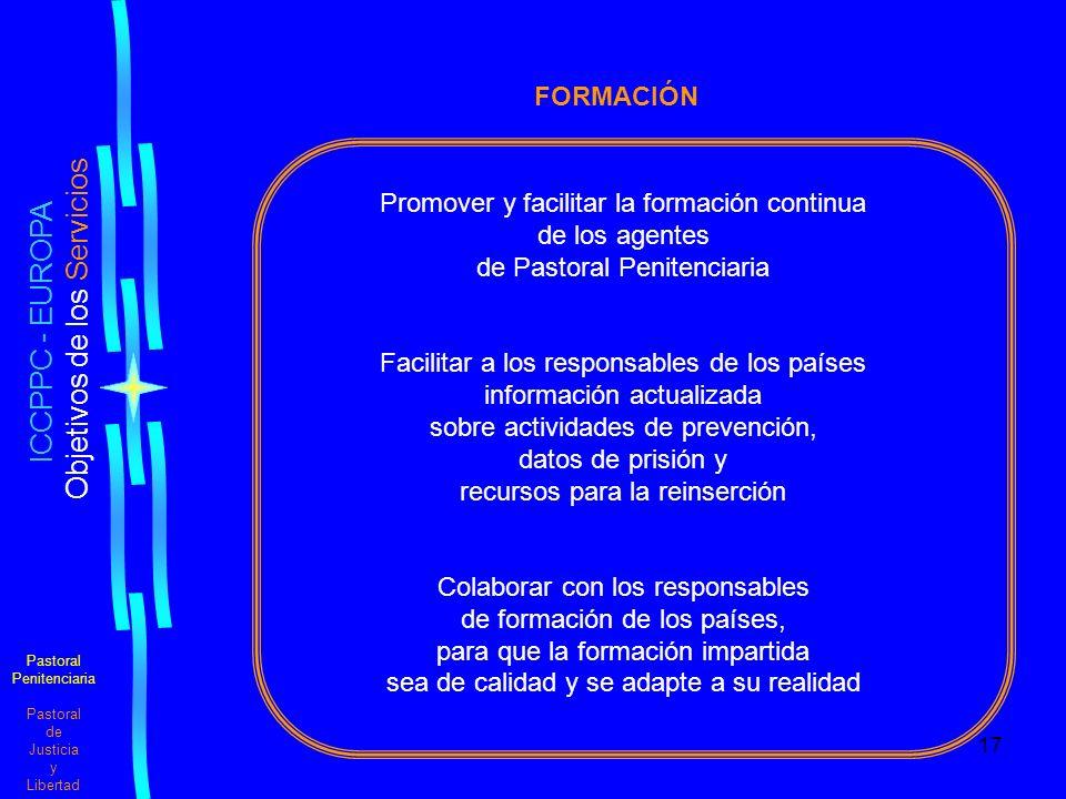 ICCPPC - EUROPA FORMACIÓN Promover y facilitar la formación continua