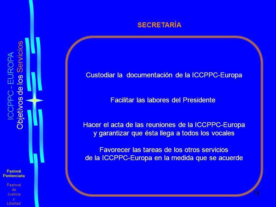 ICCPPC - EUROPA SECRETARÍA