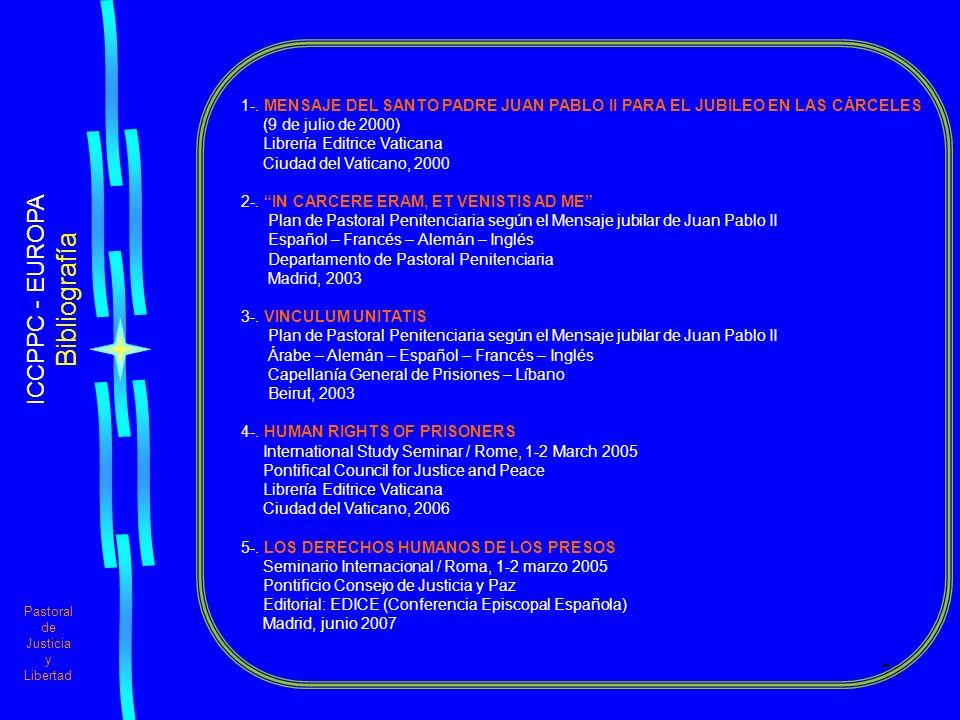 Bibliografía ICCPPC - EUROPA