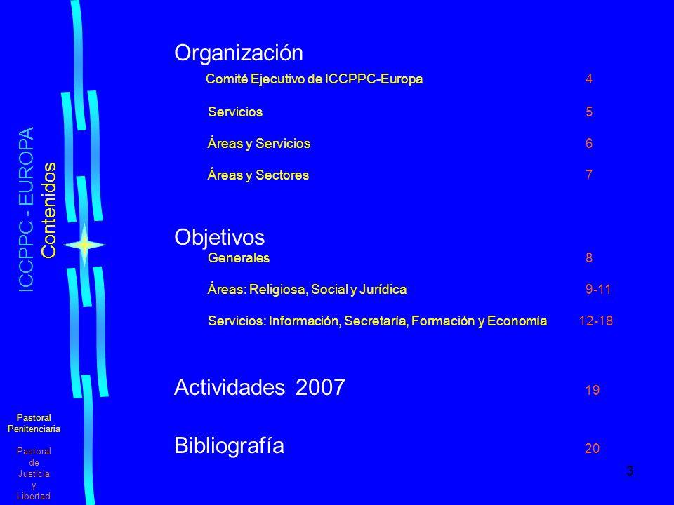 Organización Objetivos Actividades 2007 19 Bibliografía 20
