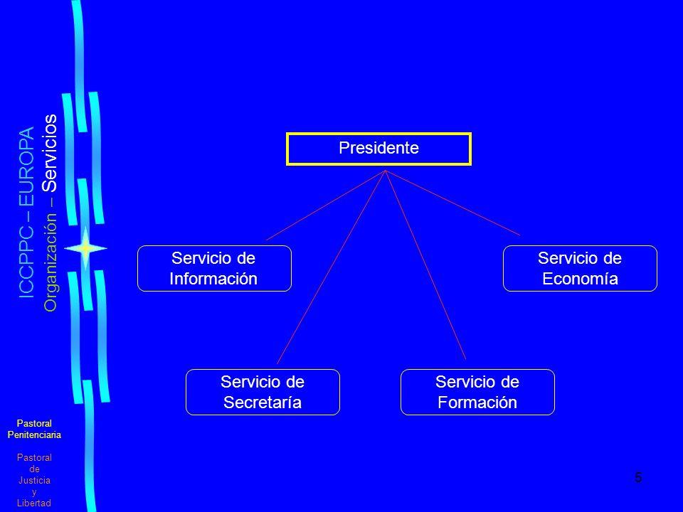 Organización – Servicios