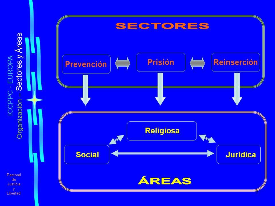 Organización – Sectores y Áreas
