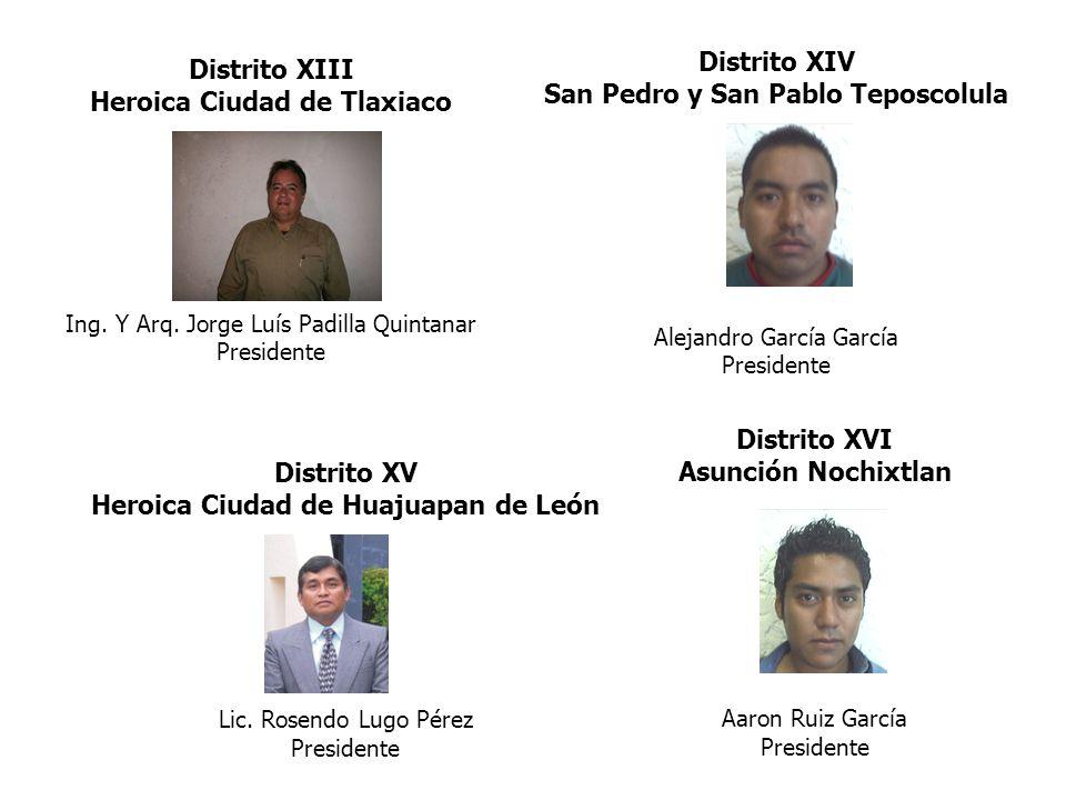 San Pedro y San Pablo Teposcolula Distrito XIII