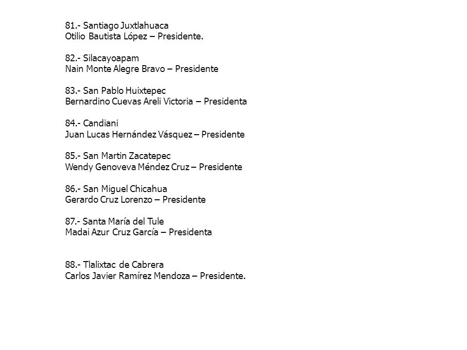 81.- Santiago Juxtlahuaca