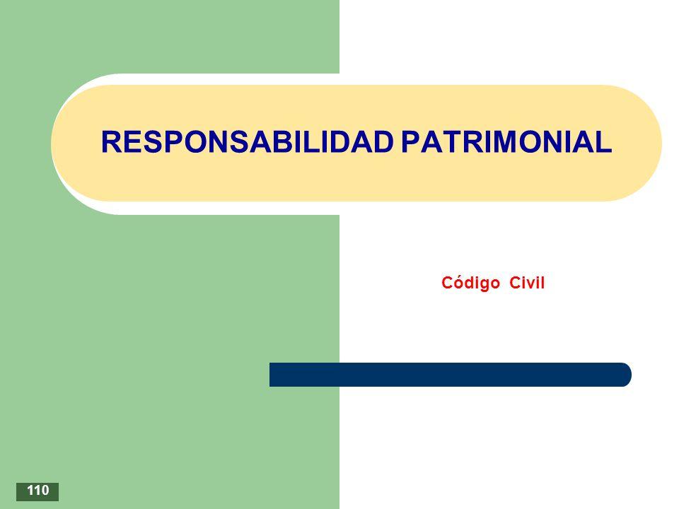 RESPONSABILIDAD PATRIMONIAL