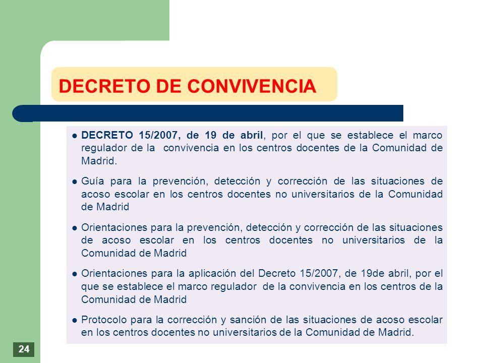 DECRETO DE CONVIVENCIA