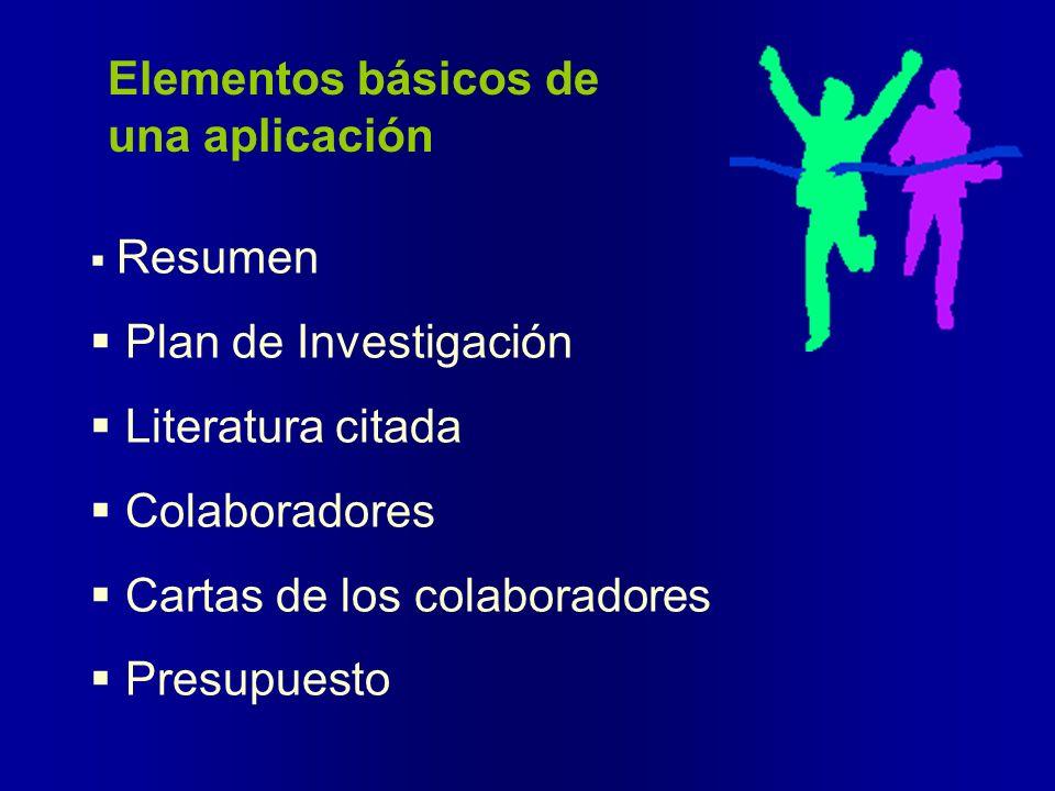 Elementos básicos de una aplicación