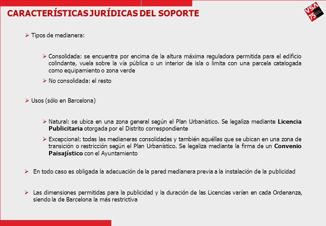 CARACTERÍSTICAS JURÍDICAS DEL SOPORTE