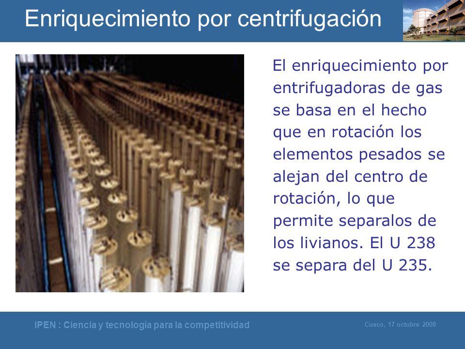 Enriquecimiento por centrifugación