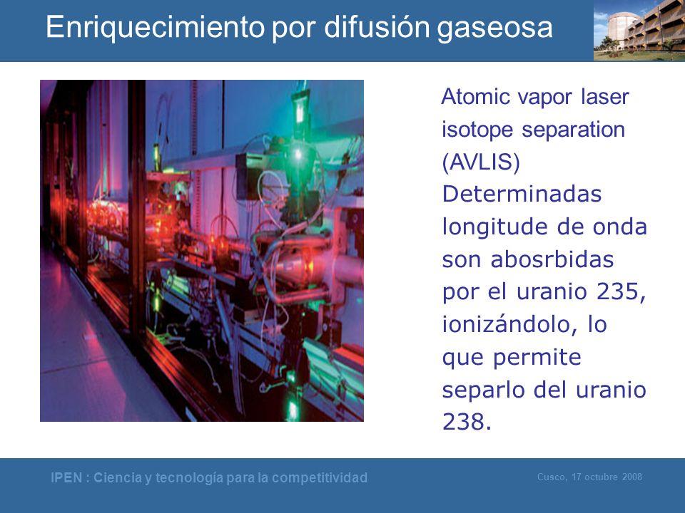 Enriquecimiento por difusión gaseosa