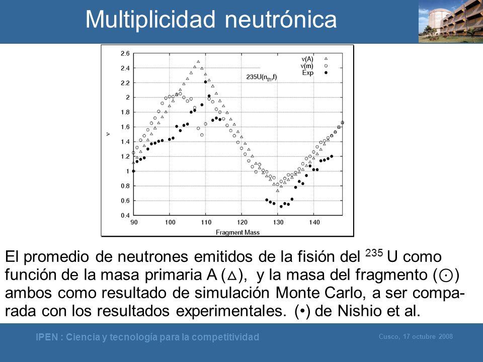 Multiplicidad neutrónica