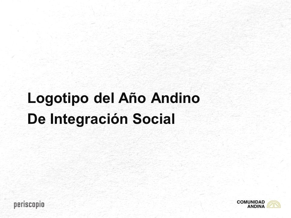 Logotipo del Año Andino De Integración Social