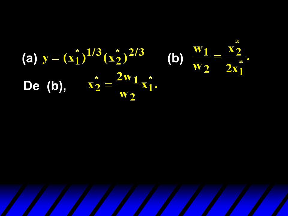 (a) (b) De (b),