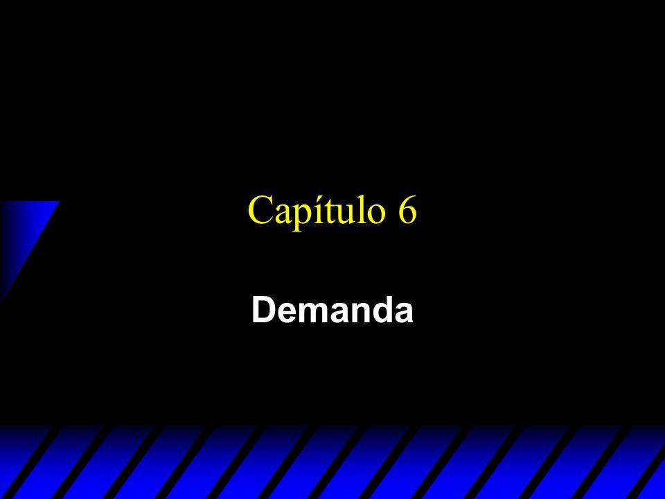 Capítulo 6 Demanda