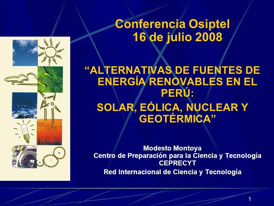Conferencia Osiptel 16 de julio 2008
