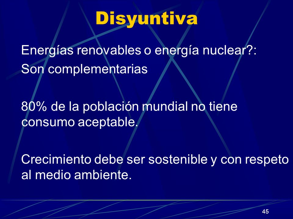 Disyuntiva Energías renovables o energía nuclear : Son complementarias