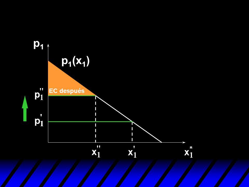 p1 p1(x1) EC después