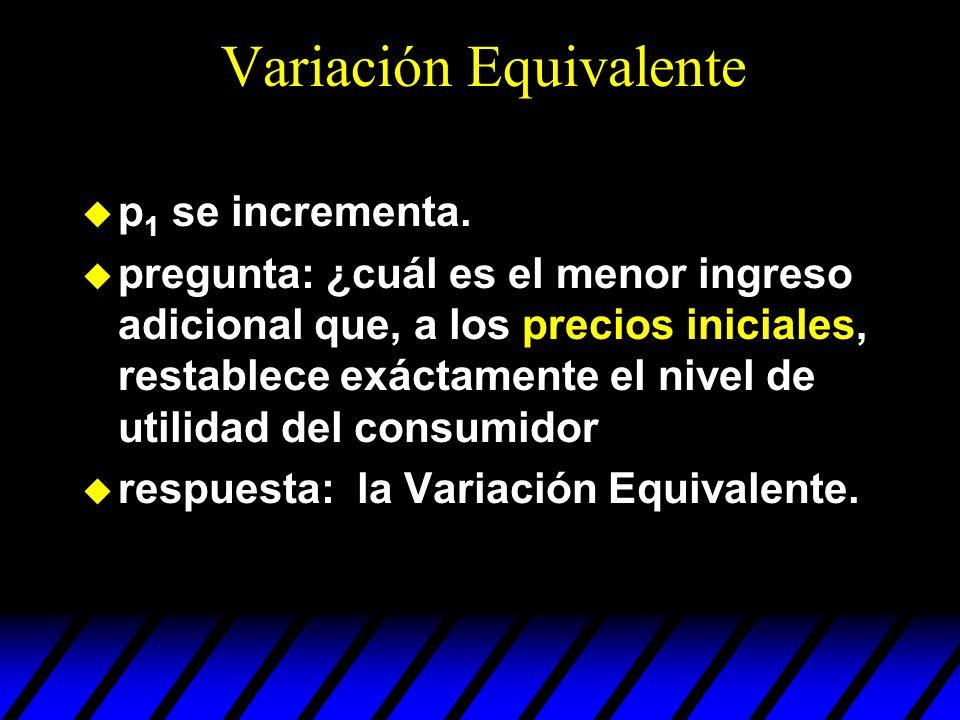Variación Equivalente