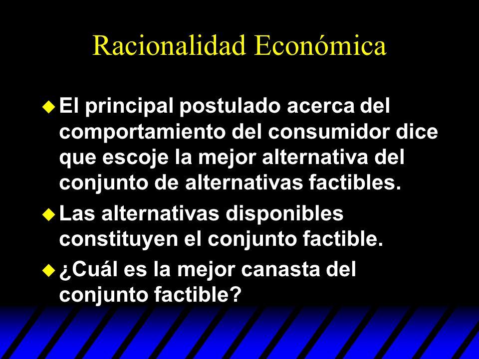 Racionalidad Económica