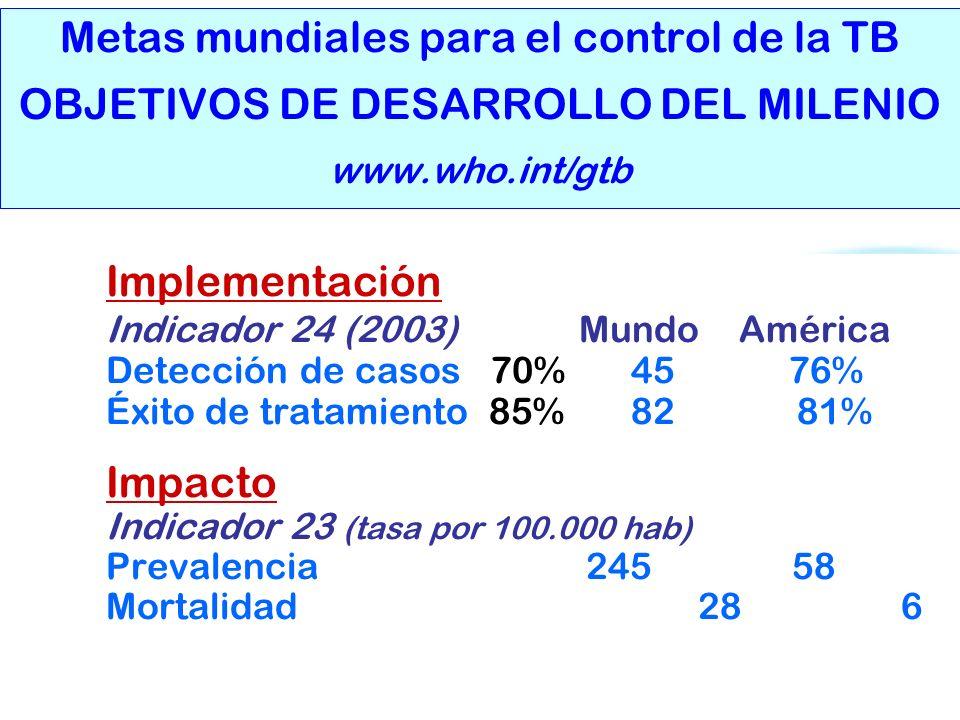 Indicador 24 (2003) Mundo América