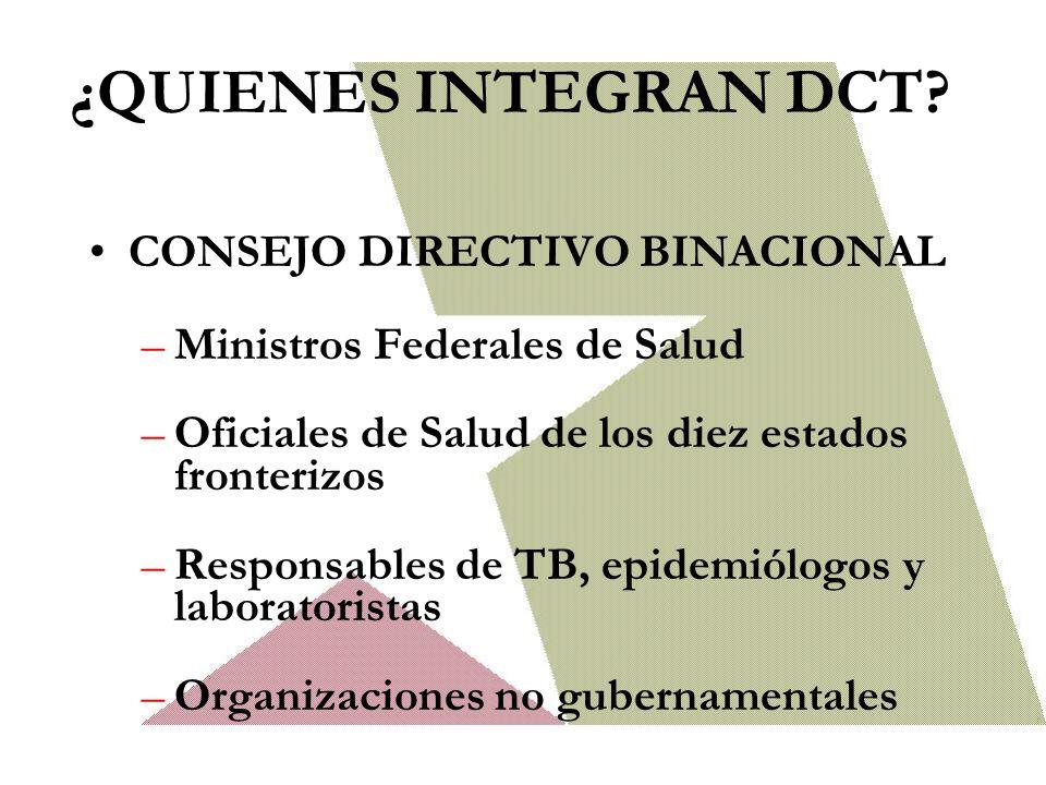 ¿QUIENES INTEGRAN DCT CONSEJO DIRECTIVO BINACIONAL