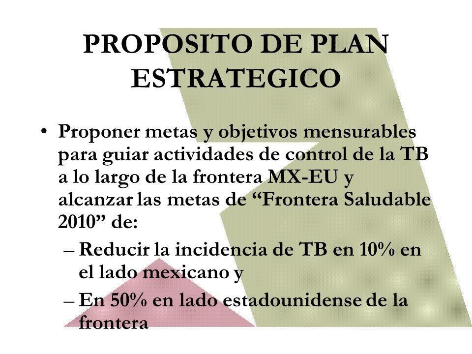 PROPOSITO DE PLAN ESTRATEGICO