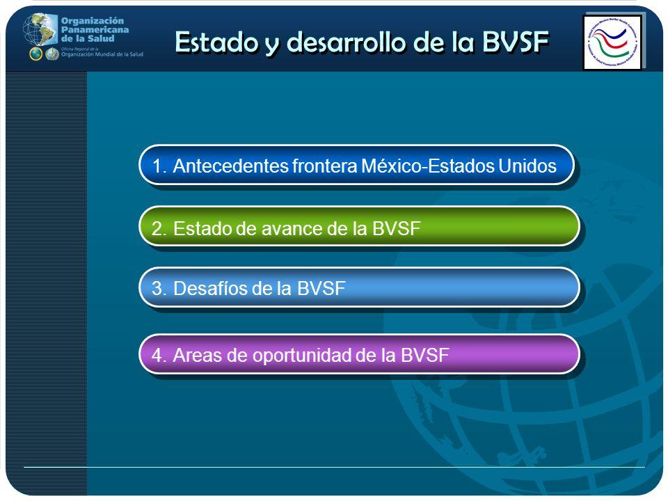 Estado y desarrollo de la BVSF
