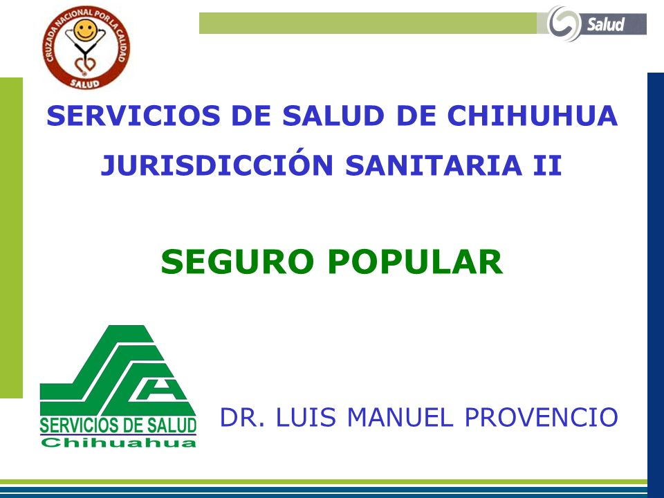 SERVICIOS DE SALUD DE CHIHUHUA JURISDICCIÓN SANITARIA II