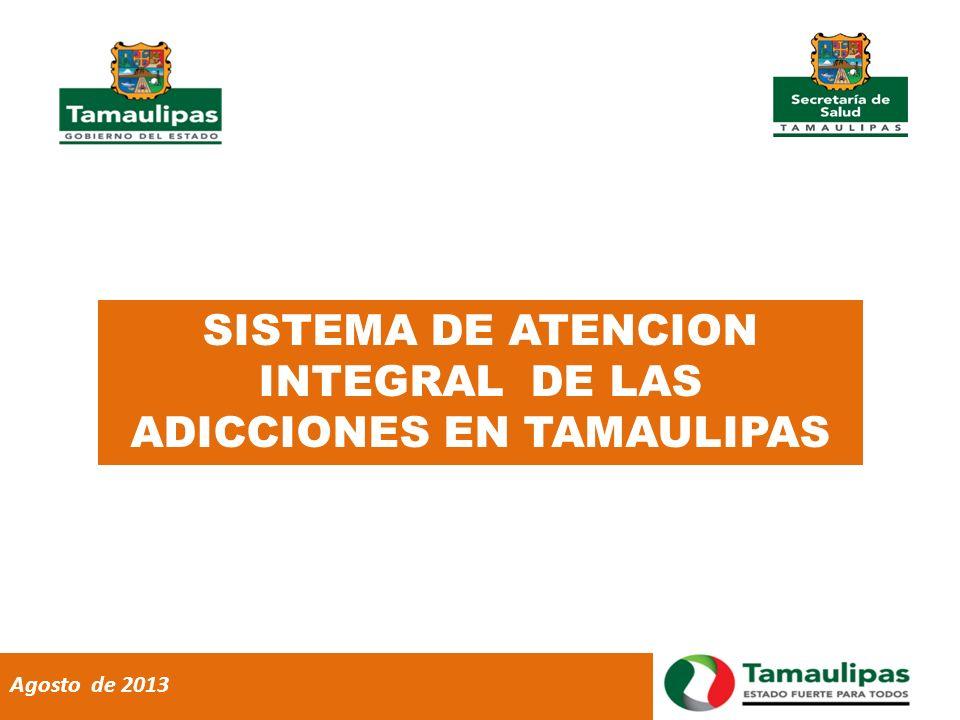 SISTEMA DE ATENCION INTEGRAL DE LAS ADICCIONES EN TAMAULIPAS