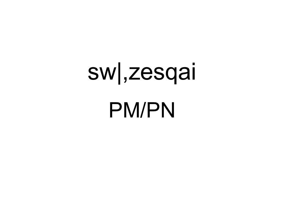 sw|,zesqai PM/PN