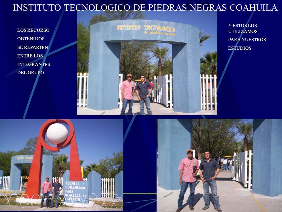 INSTITUTO TECNOLOGICO DE PIEDRAS NEGRAS COAHUILA